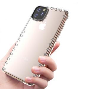 Neue Rand Kreuz Korn Kristall Klar TPU Stoßstange Telefon Abdeckung Fall Für iPhone 11 Pro