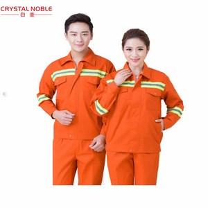 卸売工業用二個反射作業服制服男性と女性