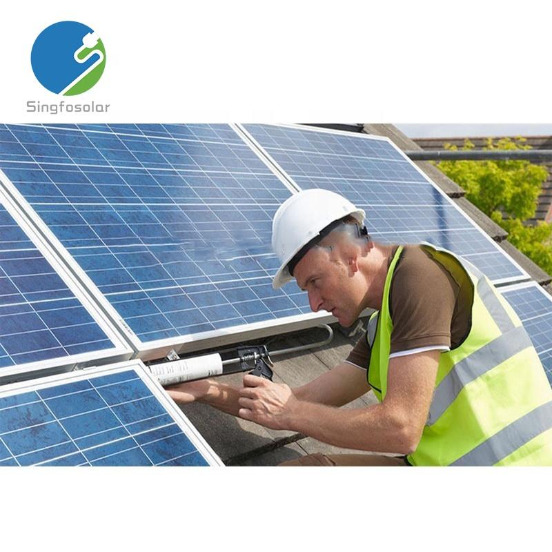 2016 hot venda 20kw fora da rede do sistema de energia solar completo para casa e uso da indústria