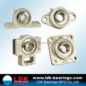 Ldk工場卸売高品質p200 f200 fl200タイプピローブロックベアリング