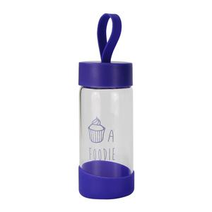 新スタイル環境にやさしいガラスボトルと水のためのカスタムロゴ