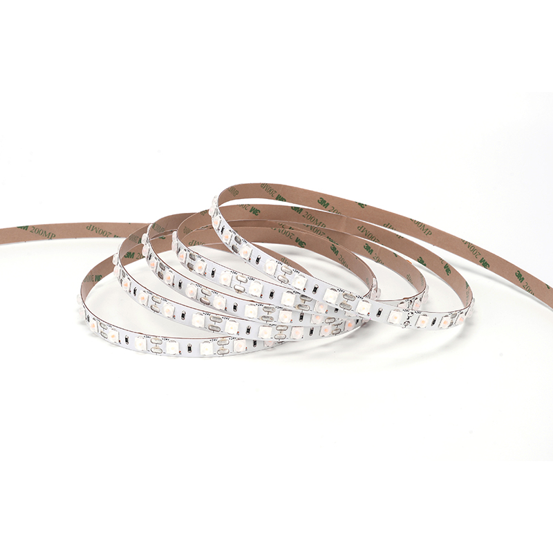 Regulable impermeable alta transmitancia de luz 10mm tira de luz LED de interior al aire libre de la decoración