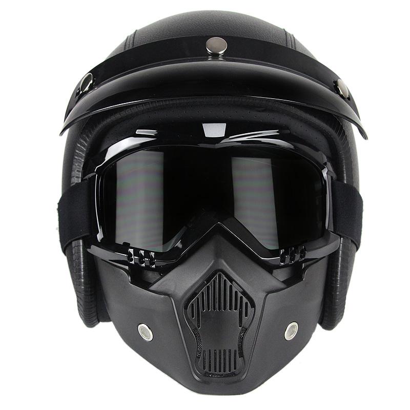 DOT ile açık yüz kask, CE, ECE tüm satış mortocycle helments