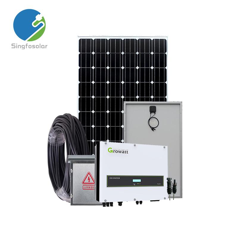17kw poder kit sistema de geração de energia solar para casa
