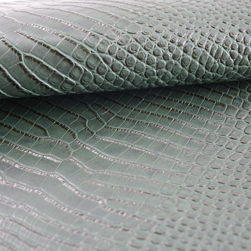PVC dye sintetica rexine panno di pelle calendario panno di pelle