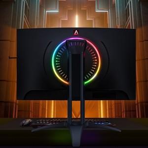 AOC AGON II ag273qcx 27 pollici 2K display 144hz monitor video game hdr400 di sollevamento girevole superficie curva del computer schermo