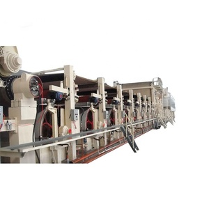2400mm Good quality middle capacity OCC recycled machine Kraft liner cardboard paper machine