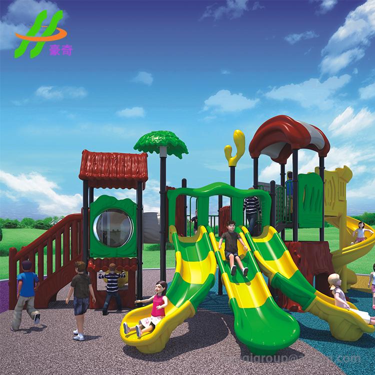 Çocuk slaytlar plastik oyun alanı okul plastik açık oyun alanı
