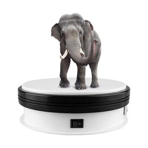 Présentoir portatif électrique rotative 360 degrés 3d platine photographie 360 tirer table tournante pour la photographie de produits