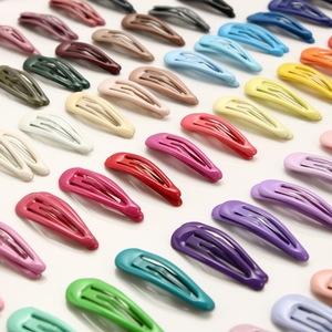 BB цвета в форме капли металлические заколки для волос для маленьких детей для девочек и женщин Средства для укладки волос