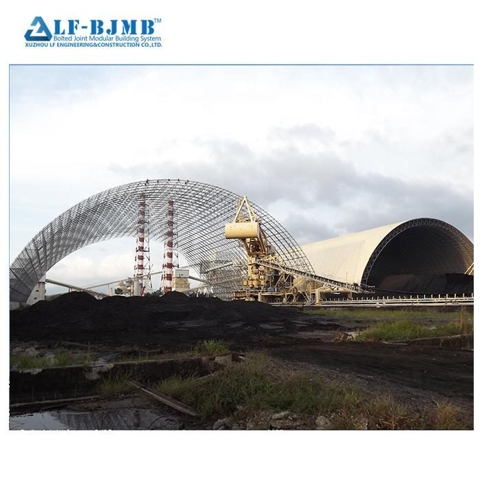 Xuzhou LF eccellente qualità e tipo di luce <span class=keywords><strong>struttura</strong></span> in acciaio prefabbricati di depositi di carbone griglia