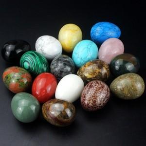 Оптовая смешанный драгоценный камень яйцо различных драгоценных камней различных размеров доступны