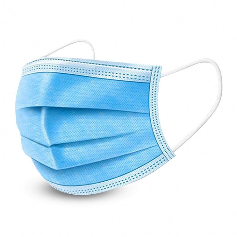 Factory Supplying Masks Non Woven Face 3 Ply Mask