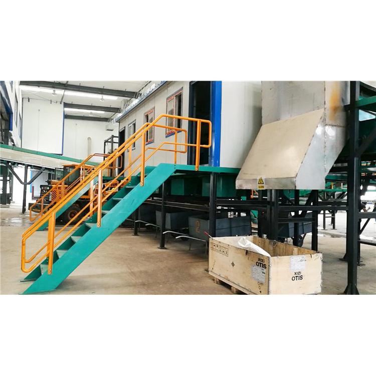 Máquina de reciclagem de separação de resíduos de lixo municipal