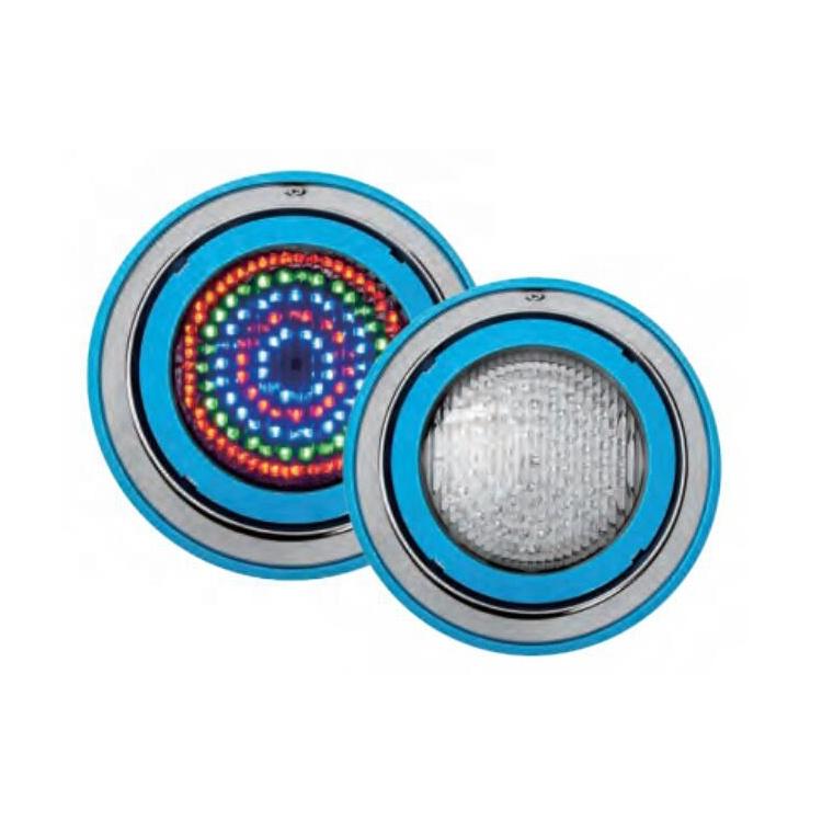 Cina fabbrica IP68 impermeabile 12 V RGB piscina subacquea HA CONDOTTO LA lampada piscina con telecomando