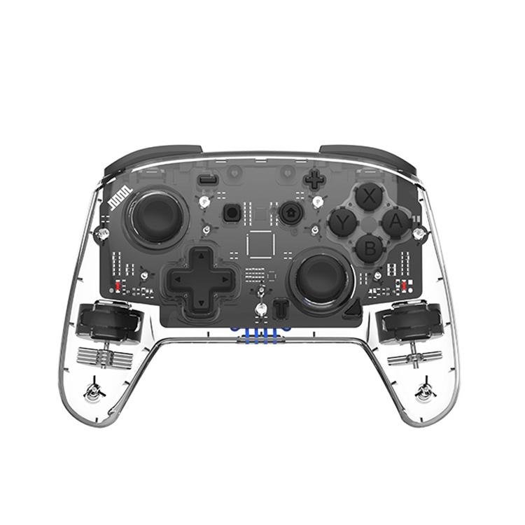 7 色ランプサポートnfcウェイクアップ機能ビデオゲームコントローラ任天堂再生スイッチワイヤレスコントローラ