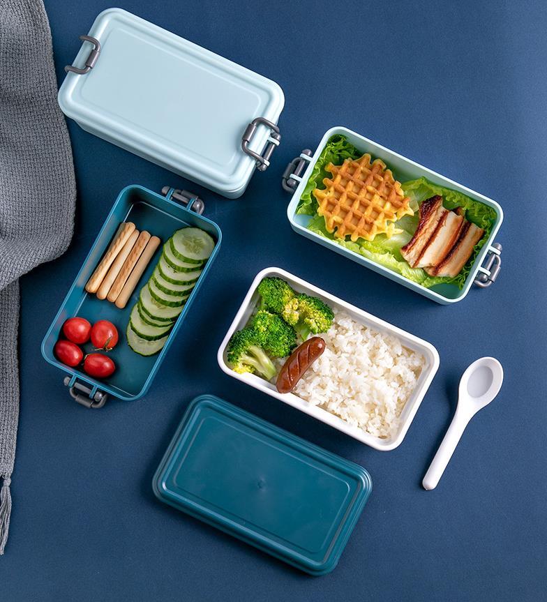 Qualité alimentaire en plastique dur ABS bento multicouche boîte à lunch