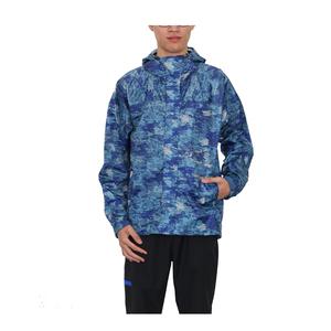 En çok satan özelleştirilmiş yağmur geçirmez erkekler açık ceket yağmurluk PU polyester tafta yağmurluk su geçirmez