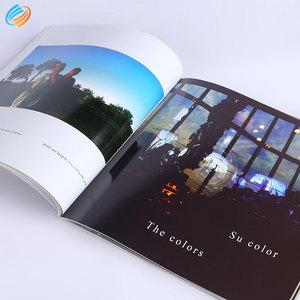 Personalizzato Soft Cover di Grandi Dimensioni Stampa del Libro E Morire di Taglio Softbook Graffette Vincolante Servizi