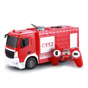 1:26 пластик Батарея питание Электрический RC автомобиль аэропорт пожарная машина игрушка