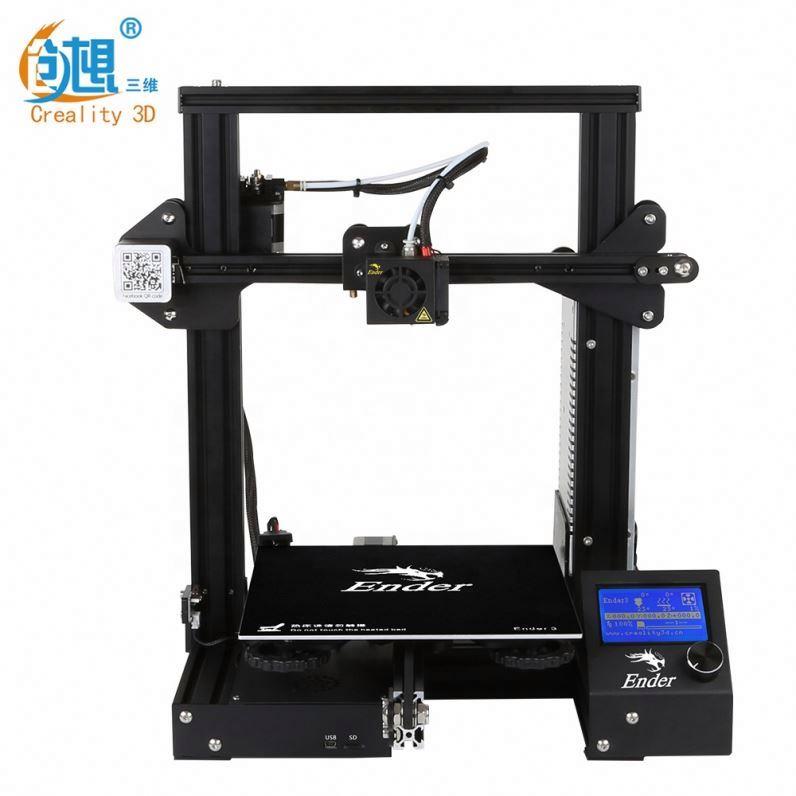 Creality Ender-3 220*220*250mm DIY <span class=keywords><strong>3D</strong></span> impresora ABS Impresión de original Creality <span class=keywords><strong>3D</strong></span> tecnología