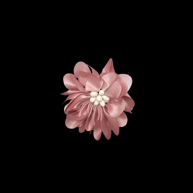 Bán buôn TỰ LÀM vải đính tulle satin hoa Voan Hoa cho DIY Tóc Bows Headband Thủ Công