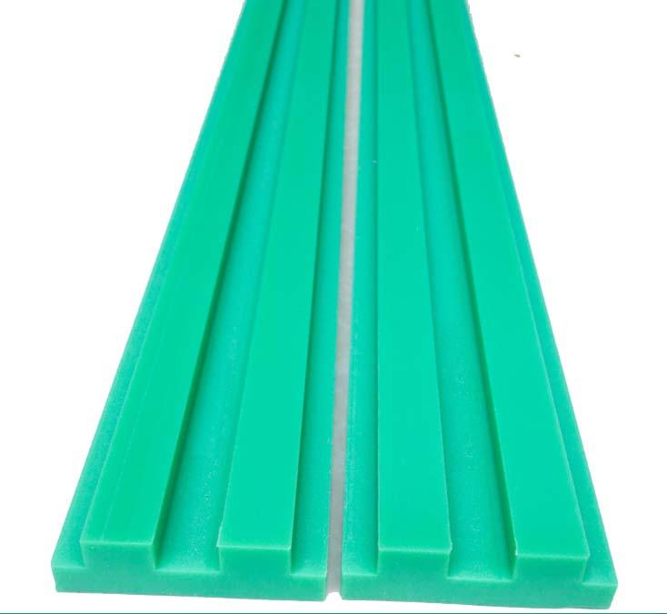 Özelleştirilmiş hassas plastik slayt bloğu 3 metre kılavuz lineer ray seti