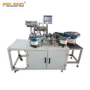 Automático UU 9,8 inductor de núcleo magnético de la Asamblea carga núcleo de ferrita wrappingtape pruebas de la máquina