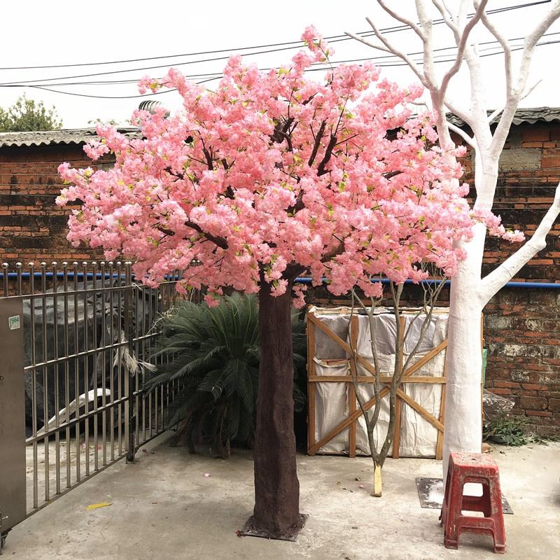 Свадебное украшение Волшебные Авто Белые Розовые деревья большие искусственные Сакура Вишня Цветок Дерево