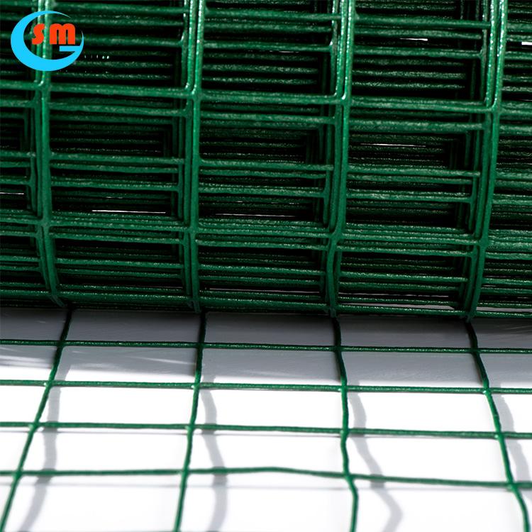 1/4 '-2 Fil D'acier PVC Enduit Soudé Treillis Métallique Enduit Rouleaux