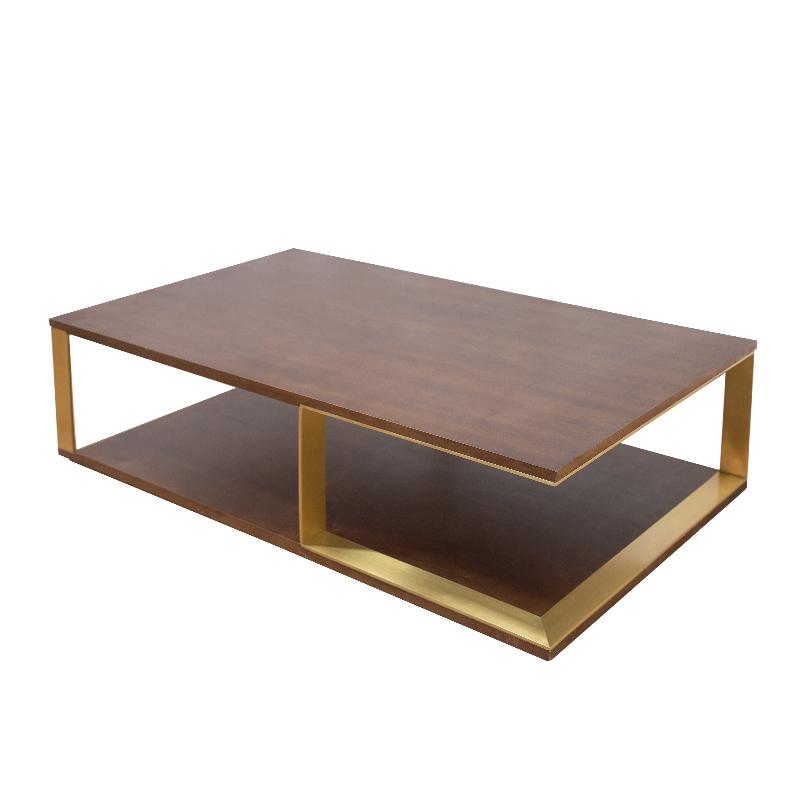 Прямые продажи с фабрики Многослойные твердой древесины паста натурального шпона Отделка чайный стол