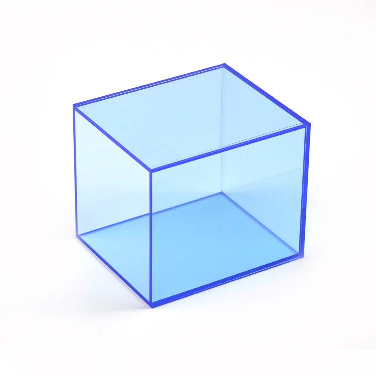Tùy chỉnh chất lượng cao gương kẹo acrylic bóng chày hiển thị trường hợp hiển thị hộp cube cho lưu trữ