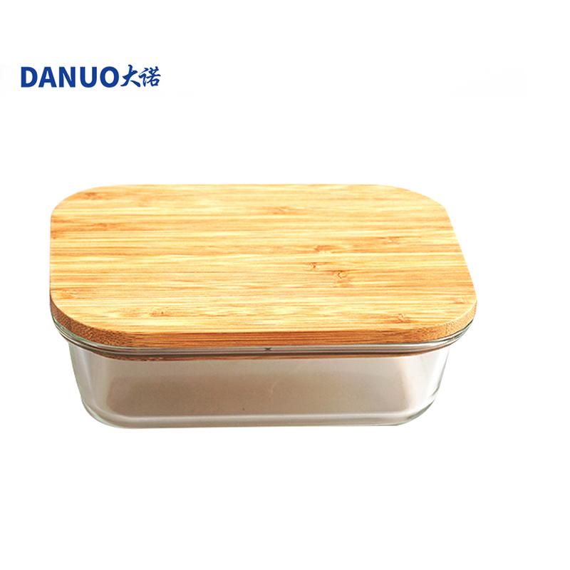 650ml bocal en verre de stockage de Nourriture/boîte à bento boîte à lunch/bento conteneur alimentaire bac à légumes