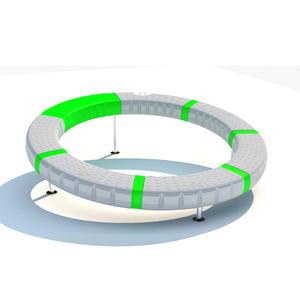 Freestanding play Kids Spinner Swivel Outdoor Playground Creative UFO Indoor Play Toys 360 degree Rotating Supernova