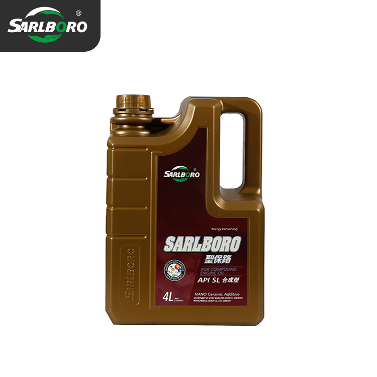 Benzinli motor yağı sentetik yağ SL 10 W/30 15 W/40