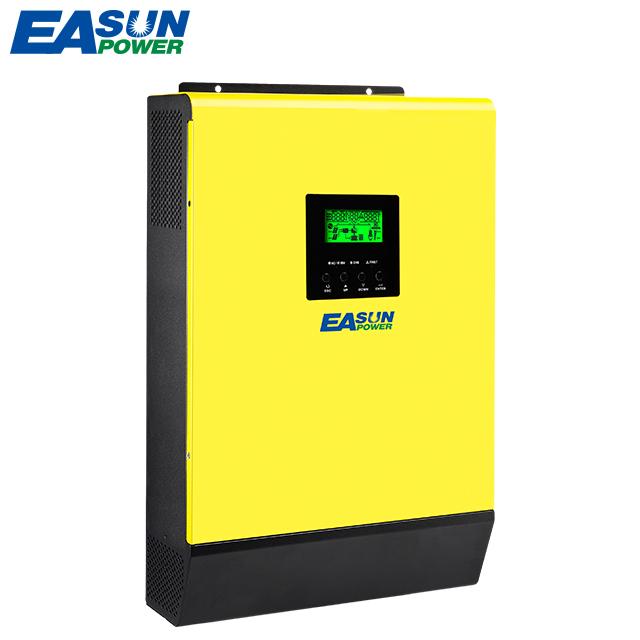 Entrada 380V 3000W híbridos de MPPT Dc rango de tensión de 150Vdc-450Vdc red bifásica o Inverex inversor Solar