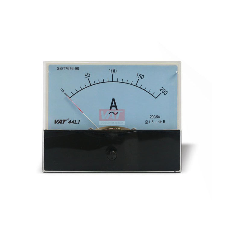 0.1 To 200A Voltmeter Moving Iron Type Ac <span class=keywords><strong>Analog</strong></span> Panel Meter Voltmet Ammet