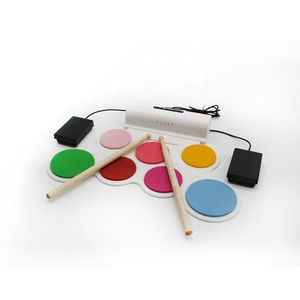 Rhythmus control touch-sensitive qualität layout mit realistischen sounds und power bass wirkung roll up regenbogen farbe