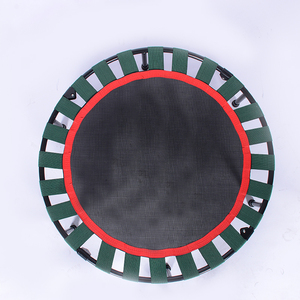 40 Inch Mini Bốn Gấp Ribbon Trampoline Trampoline Thể Dục Tập Luyện Inch bốn gấp thể dục mini trampoline pad