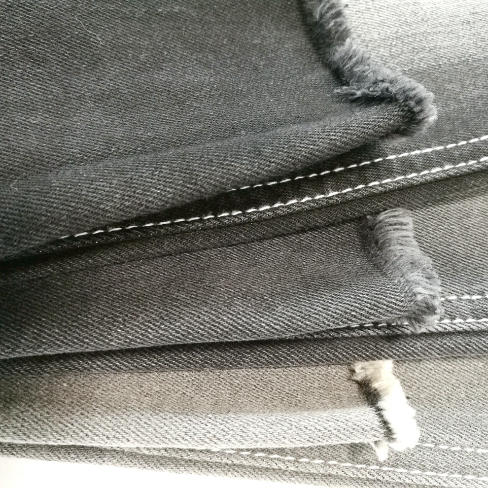 D27A1420S Chine Usine Pas Cher Jeans 10Oz Satin Tissu Denim Extensible