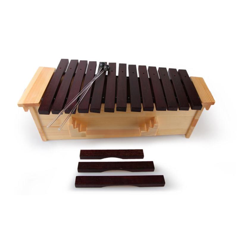 Kệ chuyên nghiệp xylophone với, Glockenspiel với gậy tốt bán chạy