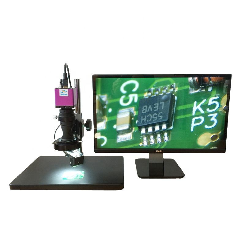 HD-2003D 14X-150X высокой четкости цифровой микроскоп с 3D изображения
