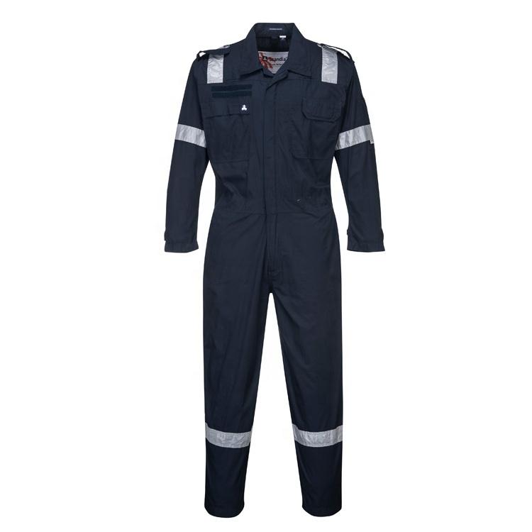 Männer Overall Quick Dry Reflektierende Streifen Insgesamt Sicherheit Arbeit Kleidung Overall