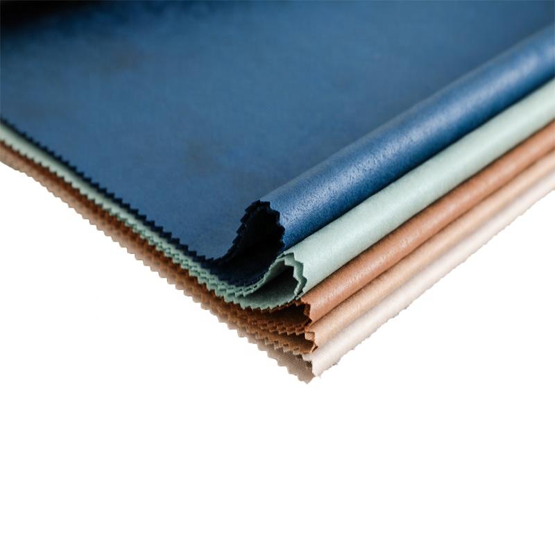 Novo design à prova d' água vento tecido de malha da camurça do Poliéster Para A jaqueta de camurça