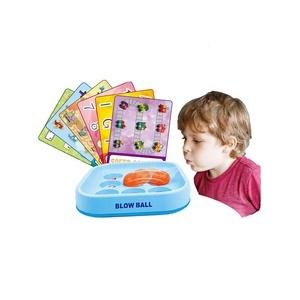 Niños carrera educativo familia Tabla de mesa de escritorio blow ball game