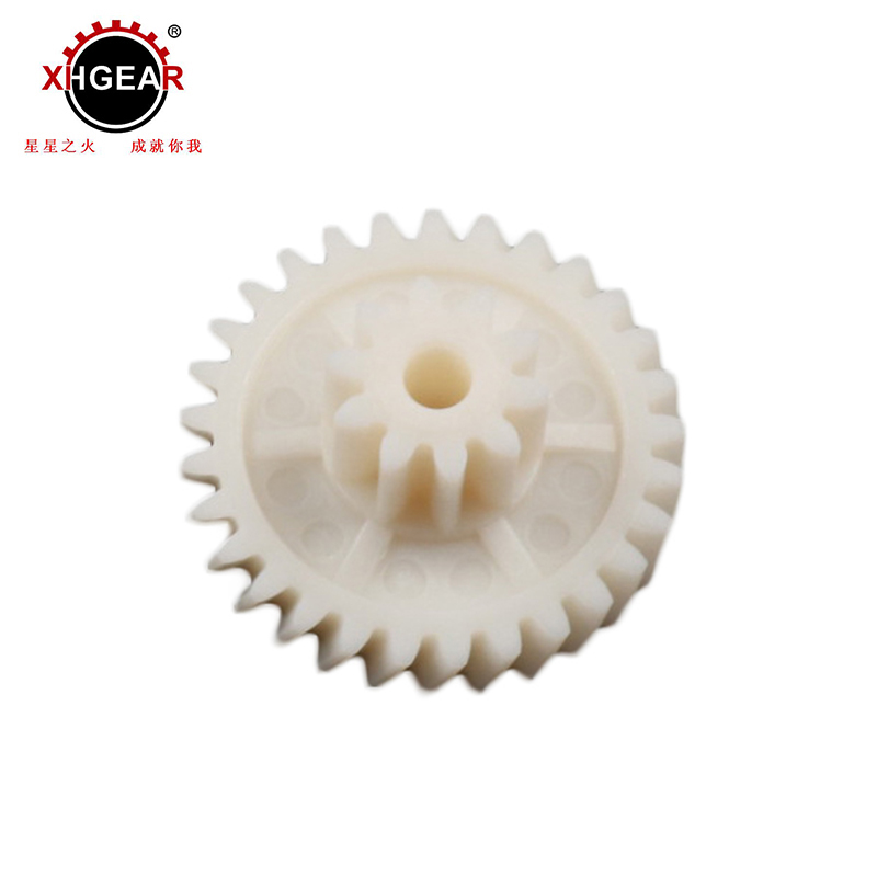 Personalizado alta dureza de Nylon plástico interior pom spur Gear