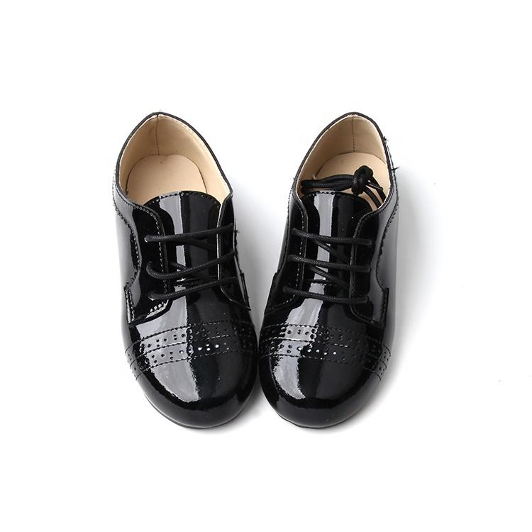 El último diseño de toda la temporada de los niños zapatos de cuero Real de los niños zapatos casuales zapatos