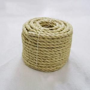新スタイル工場価格アスベスト価格麻綿フェルトウール生サイザル麻ロープ 4 ミリメートル