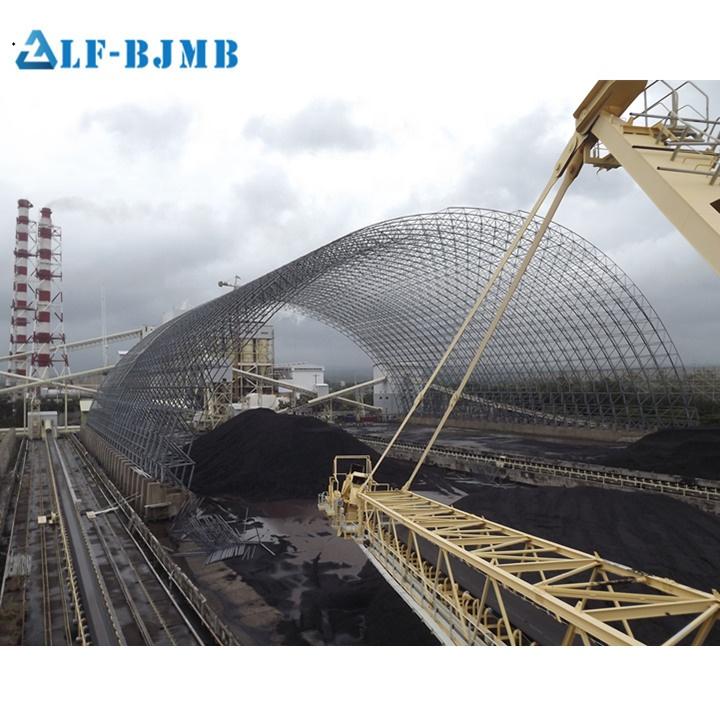 Xuzhou LF carbone cortile griglia di <span class=keywords><strong>struttura</strong></span> in acciaio telaio di copertura capannone rifugio
