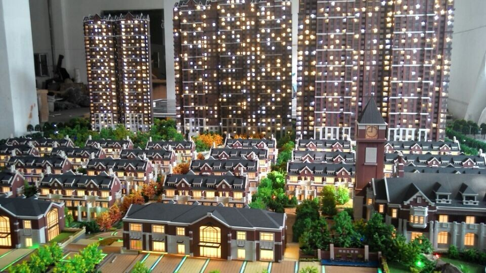 1 100 apartment buildings maquette architectural scale for Apartment building maker